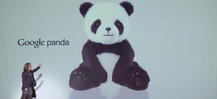 google-pandabear