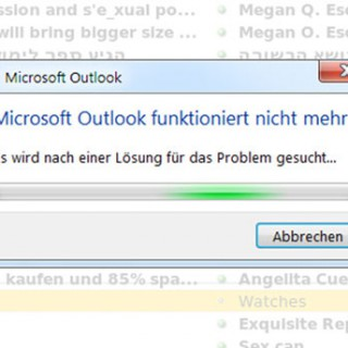 outlook-funktioniert-nicht