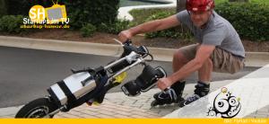 FlyRad Elektro-Einrad für Inlineskater
