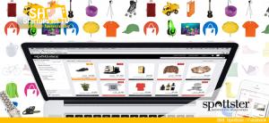 Spottster Online-Produkt-Merkzettel