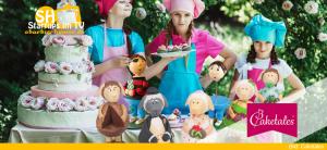 Caketales Tortenständer-Figuren