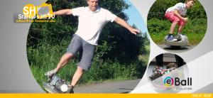 eBall Skate-Kugel Fun-Sportgerät