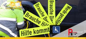 Pannenfächer Auto-Warnhinweis-Schilder