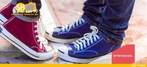 everysize Suchmaschine für Sneaker