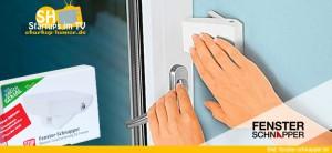 Fenster Schnapper Einbruchschutz für Fenster