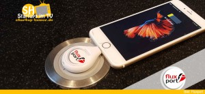 FluxPort - Smartphones kabellos laden