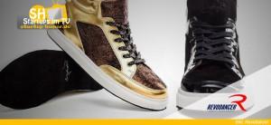 Revodancer Tanz-Sneaker mit Wildledersohle