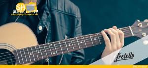 Fretello Gitarrespielen Lern-App