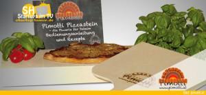 Pimotti Pizzastein für Steinofenpizza