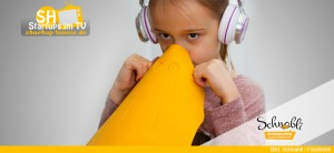 Schnabli Inhalierhilfe für Kinder mit Hörspielen