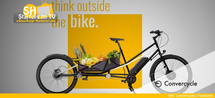 convercycle bike die h hle der l wen startup humor